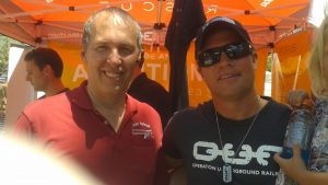 Terry with Tim Ballard, Operation Underground Railrod